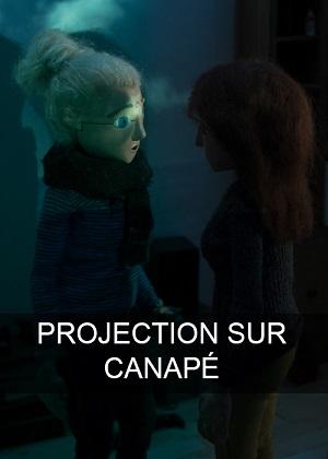 Projection sur canapé
